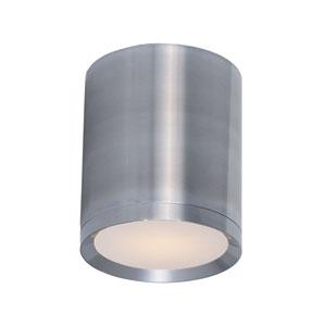 Lightray Brushed Aluminum 5-Inch Wide LED Flush Mount