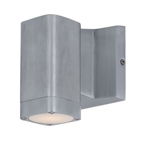 Lightray Brushed Aluminum 5.5-Inch High LED Wall Sconce