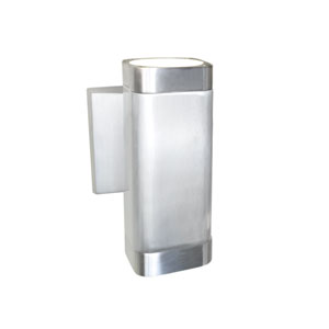 Lightray Brushed Aluminum 6.5-Inch High LED Wall Sconce
