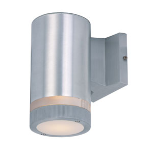 Lightray Brushed Aluminum 8-Inch High LED Wall Sconce