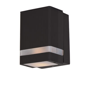 Lightray Architectural Bronze 6.5-Inch High LED Wall Sconce