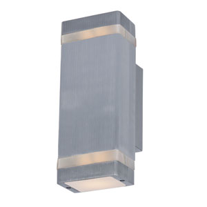 Lightray Brushed Aluminum 4.5-Inch Wide LED Wall Sconce