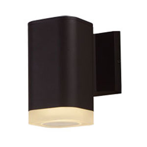 Lightray Architectural Bronze LED One-Light Seven-Inch Outdoor Wall Mount
