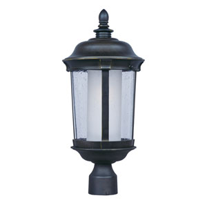 Dover EE Bronze One-Light Fluorescent Outdoor Post