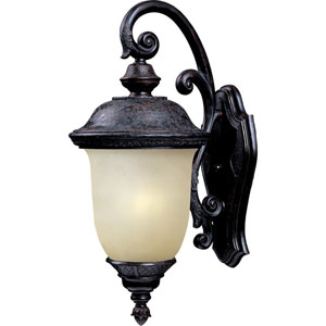 Carriage House EE Fluorescent Oriental Bronze One-Light Outdoor Wall Mount