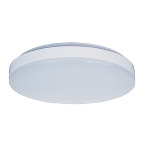 Profile EE White One-Light LED Eleven-Inch Flushmount