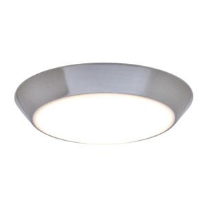 Convert Satin Nickel 1050 Lumen LED Flush Mount
