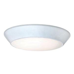 Convert White 1400 Lumen LED Flush Mount