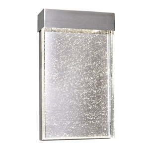 Moda Stainless Steel 7-Inch Wide LED Wall Sconce