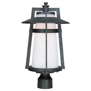 Calistoga LED Adobe One-Light Outdoor Post