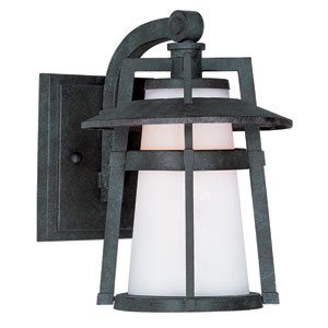Calistoga LED Adobe One-Light Seven-Inch Outdoor Wall Sconce