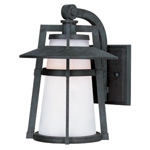 Calistoga LED Adobe One-Light Ten-Inch Outdoor Wall Sconce