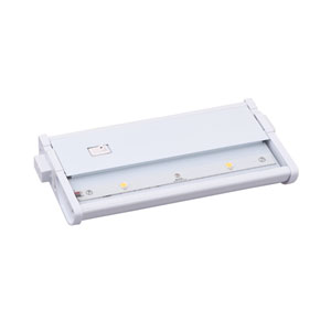CounterMax MX-L120DC White 7-Inch 3000K 2-LED Under Cabinet