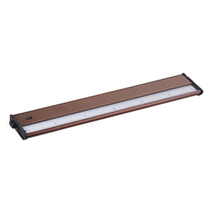 CounterMax MX-L120DC Metallic Bronze 21-Inch 3000K 6-LED Under Cabinet