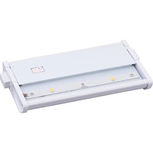 CounterMax MX-L120DC White 7-Inch 2700K 2-LED Under Cabinet