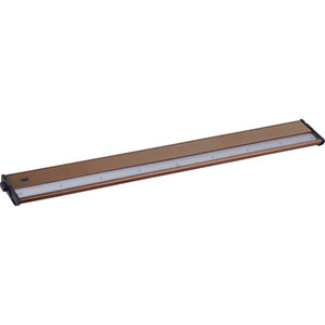 CounterMax MX-L120DC Metallic Bronze 30-Inch 2700K 8-LED Under Cabinet
