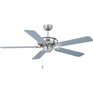 Satin Nickel 52-Inch Super-Max Fan