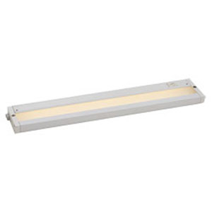 CounterMax White LED One-Light 18-Inch Under Cabinet
