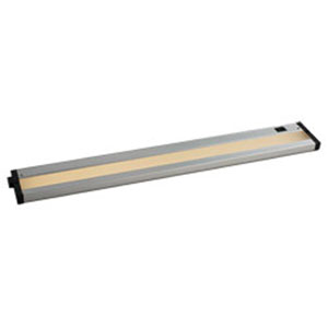 CounterMax Brushed Aluminum LED One-Light 24-Inch Under Cabinet
