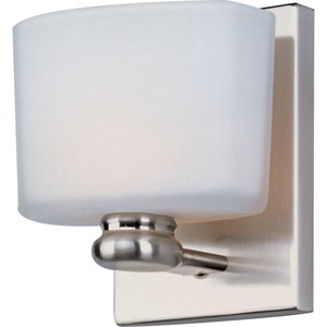 Essence Satin Nickel One-Light Wall Sconce