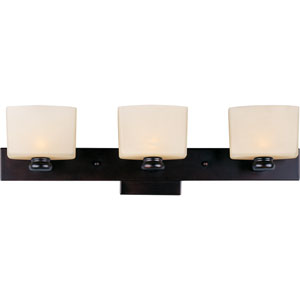 Essence Oil Rubbed Bronze Three-Light Bath Fixture