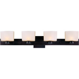 Essence Oil Rubbed Bronze Four-Light Bath Fixture