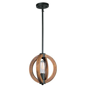 Bodega Bay Anthracite One-Light Mini Pendant