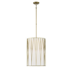 Regal Terrace Soft Brass LED Pendant