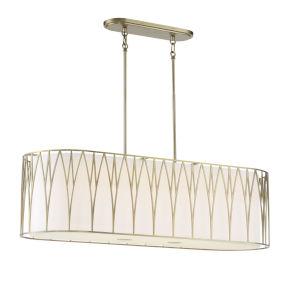 Regal Terrace Soft Brass 42-Inch Pendant