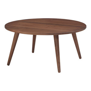 Soriano Walnut 36-Inch Coffee Table