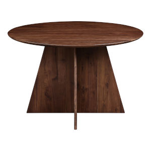 Veneto Brown Round Dining Table