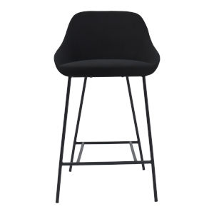 Shelby Black Counter Stool