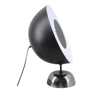 Halo White and Black One Light LED Table Lamp