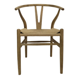 Ventana Brown Dining Arm Chair, Set of Two