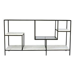 Banswara Black and White Display Shelf