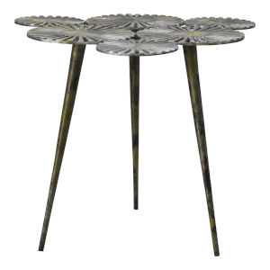 Flora Gold Accent Table