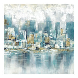 Multicolor 36H x 36W-Inch Seaside Wall Decor Painting
