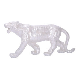 White Bengal Tiger Statue