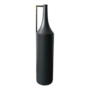 Argus Black Metal Vase