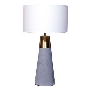 Renny Grey One-Light Lamp