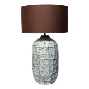Labron Grey One-Light Lamp
