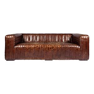 Castle Brown 27.6-Inch Sofa