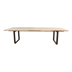 Wilks White 118-Inch Dining Table