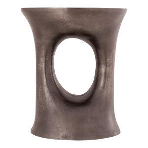 Luwan Grey Stool