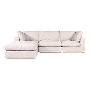 Justin Gray Lounge Modular Sectional Sofa