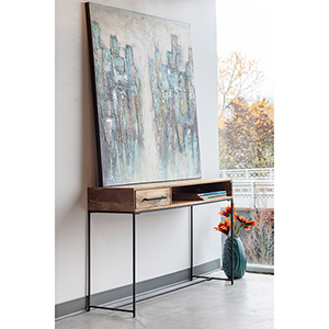 Colvin Natural Console Table