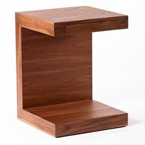 Zio Walnut Side Table