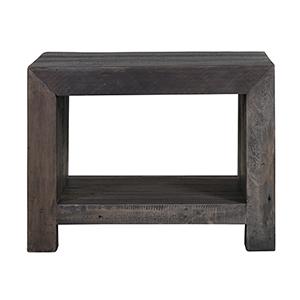 Vintage End Table Grey