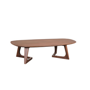 Godenza Walnut 15-Inch Coffee Table