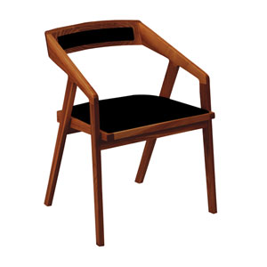 Padma Black Arm Chair